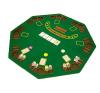 OEM Kihajtható nyolcszögletű póker asztallap kártyajáték