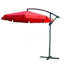 Napernyő EXCLUSIVE 300 cm - piros kerti bútor