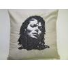 Hímzett Michael Jackson párna