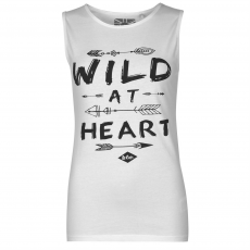 Lee Cooper Divatos trikó Lee Cooper Wild at Heart Graphic női