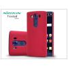 LG V10 H900 hátlap képernyővédő fóliával - Nillkin Frosted Shield - piros