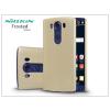LG V10 H900 hátlap képernyővédő fóliával - Nillkin Frosted Shield - gold