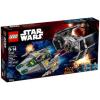LEGO Vader TIE vadászgépe az A-szárnyú csillaghajó ellen