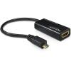 DELOCK MHL HDMI MicroUSB-B adapter