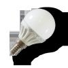 LEDvonal LED lámpa , égő , körte , E14 foglalat , 4 Watt , 180° , meleg fehér