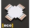 LEDvonal Elosztó elem , PCB , 5050-es LED szalaghoz , RGB , L, T vagy X elosztáshoz villanyszerelés