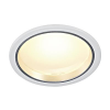 Schrack Technik LED Downlight 30/3, kerek, fehér, 30 LED, 3000K