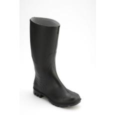 MUNKAVEDELEM PVC csizma, fekete, Méret: 36-50