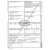 CMR nemzetközi fuvarlevél A/4 6 példányos, álló, vegykezelt papír E.10