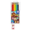 ASTRA JUMBÓ színes ceruza 6 db-os HÁROMSZÖG+HEGYEZŐ 312115003