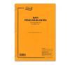 Napi pénztárjelentés A/4, álló 25*4 példányos nyomtatvány