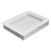 Kratki Fehér Szellőzőrács Standard 22x30