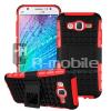Samsung Galaxy J5 Hybrid Ütésálló Tok Kitámasztható 2in1 Csuszásgátlóval Piros