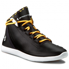 Under Armour Félcipő UNDER ARMOUR - Ua W Studiolux Mid Lnr 1267512-001 Blk/Yzo/Wht