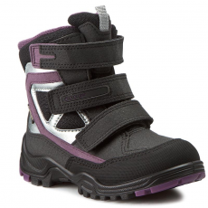 Ecco Hótaposó ECCO - Xpedition Kids 70464259461 Black/Black/Grape