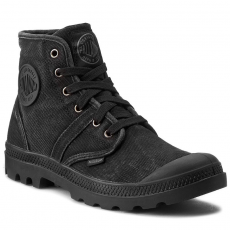 Palladium Bakancs PALLADIUM - Pallabrouse 02477069 Black/Metal