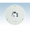15W mágneses LED körpanel mennyezeti lámpába építhető
