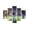 Városi fények vászonkép