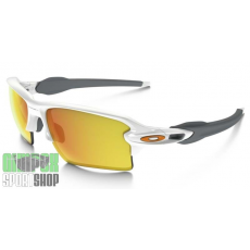 OAKLEY Flak 2.0 XL Polished White Fire Iridium