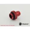Bitspower G1/4 Deep Blood Red Stubby 10mm ID - vérvörös /BP-DBRWP-C13/