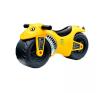 G21 játék motorkerékpár, sárga lábbal hajtható járgány