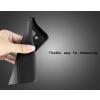 Microsoft Lumia 550 hátlap képernyővédő fóliával - IMAK Vega Leather - fekete