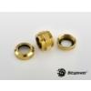 Bitspower Multi-Link Adapter True Brass Enhance 2x 12mm AD - Arany /BP-TBEDML/
