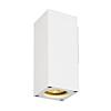 Schrack Technik THEO WALL OUT fali lámpa, GU10, max. 35W, szögletes, fehér