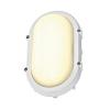 Schrack Technik TERANG fali- és menny. lámpatest, ovális,fehér,8W LED,3000K