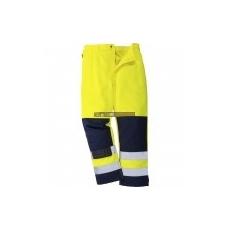 Portwest TX71 Seville Hi-Vis Jól láthatósági nadrág (sárga/navy)