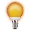 Sylvania TOLEDO BALL IP44 Orange E14 SL narancs LED izzó