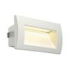 Schrack Technik Downunder OUT LED M, fali, beépíthető, 3,3W, 3000K, fehér