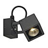 Schrack Technik SMALL SQUARE LED fali lámpa szögletes antracit, 6W, 3000K