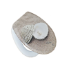 Ivanicplast Shell M antibakteriális duroplast WC ülőke