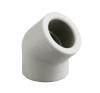 Pipelife Hungária Műanyagipari Kft. Instaplast D32 PP 45°-os BB könyök idom hűtés, fűtés szerelvény