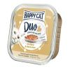 Happy Cat Duo pástétomos falatkák - Marha és nyúl 6 x 100 g