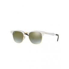 Ray-Ban RB3507 137/9J CLUBMASTER ALUMINUM BRUSHED SILVER GREEN FLASH GRADIENT napszemüveg