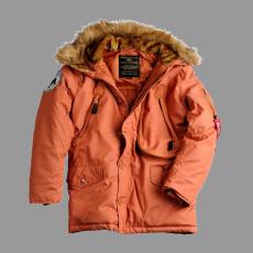 Alpha Industries Polar Jacket - narancs