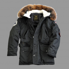 Alpha Industries Polar Jacket RF - replica szürke