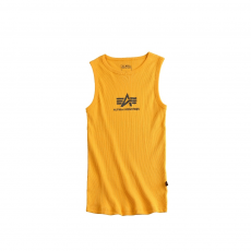 Alpha Industries Logo Tank - sárga
