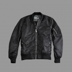 Alpha Industries MA-1 VF LW - fekete/króm