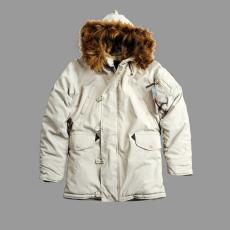 Alpha Industries Explorer Női - off white kabát