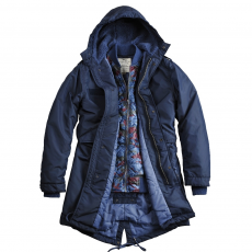 Alpha Industries Fishtail TT 2 in 1 - replica blue