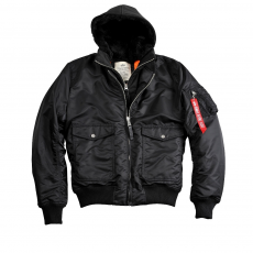 Alpha Industries MA-1 D-Tec VF - fekete