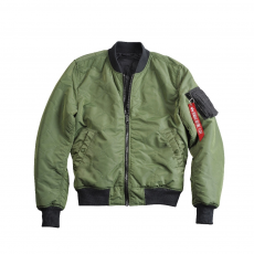 Alpha Industries MA-1 Quilted - sage green