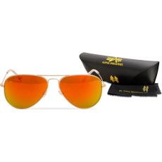 Alpha Industries Top Gun M napszemüveg - arany/arany