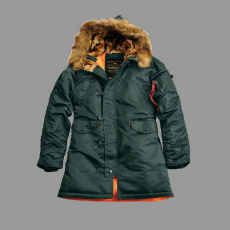 Alpha Industries N3B VF 59 Női - dark petrol