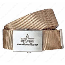 Alpha Industries Heavy Duty Belt 4 cm - khaki