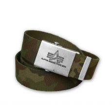 Alpha Industries Heavy Duty Belt 4 cm - terepszín