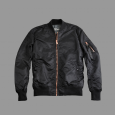 Alpha Industries MA-1 VF LW - fekete/réz